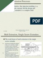 Extrusion Molding Methods