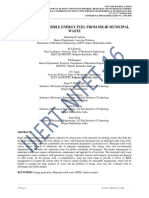 A REVIEW OF POSSIBLE ENERGY FUEL FROM SOLID MUNICIPAL WASTE