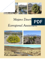 The Nature Conservancy's Mojave Desert Ecoregional Assessment 2010