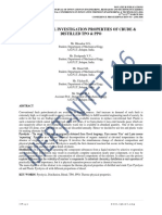 EXPERIMENTAL INVESTIGATION PROPERTIES OF CRUDE & DISTILLED TPO & PPO