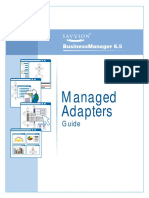 Managed Adapter Guide