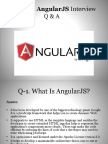 Important AngularJS Interview Questions and answer
