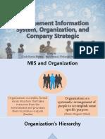 Sistem Informasi Manajemen, Organisasi, dan Strategi Perusahaan