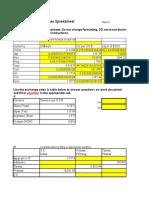 FINC413 Math Spreadsheet