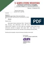 Surat Permintaan PHO PSDA