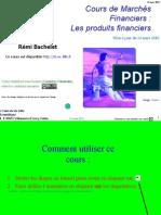 Marches Financiers - Les Produits Financiers