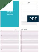 Planner Print Fix