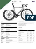 Liv Cycling EnviLiv Advanced Pro Disc 1