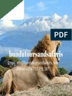 Kenya safari tours packages