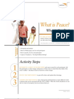 What is Peace - Activity