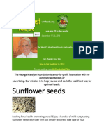 Benefits of Sun Flower Seeds