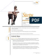 Steps and Mudslides - Activity