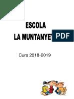 Dossier Inici Curs 18-19