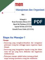 Chapter 01. Pengantar Management (Kelas G-Kelompok 6)