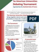 American Universities Debating Tournament 2010