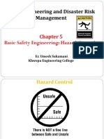 5.0 Basic of Safety Engineering Hazard Control