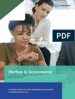 Perfion & Ucommerce statten Ihren Out-of-the-Box Webshop mit wertvollen Produktinformationen aus