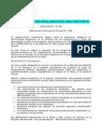Excipientes de Declaración Obligatoria (1)