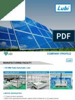 Lubi Solar | Solar Panel Manufacturer India