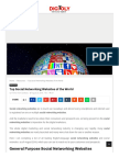 Www Digitoly Com Top Social Networking Websites of the World