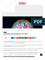 www.digitoly.com — Top Social Networking Websites of the World