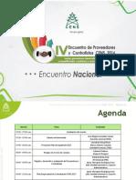 Memorias IV Encuentro Proveedores y Contratistas CENS Nacional Dic16