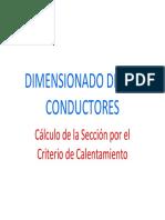 Dimensionado de Los Conductores_Calculo de La Seccion