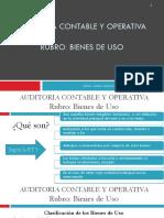2018 Rubro Bienes de Uso Unidad 6