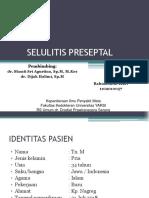SELULITIS-Preseptal