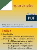 Tema 4. Interconexion de Redes
