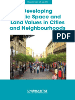 Discussion Paper - Developing Public Space and Land Values in Cities and Neighbourhoods