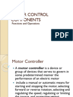MOTOR CONTROL COMPONENTS presentation2.ppt