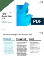 Roland Berger Trend Compendium 2030 Trend 1 Demographic Dynamics 1
