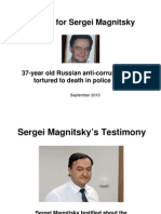 Justice for Sergei Magnitsky Presentation