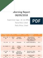 Gabungan Morning Report 8 Sept 2018