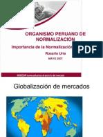 Importancia de la Normalización Internacional