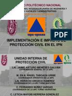 Implementación e Impacto de La Protección Civil en El IPN 2016 1