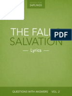Vol 2 the Fall and Salvation Lyrics