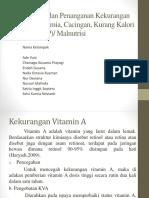 Pencegahan dan Penanganan Kekurangan Vitamin, Anemia, Cacingan, Kurang Kalori Protein (KKP) Malnutrisi.pptx