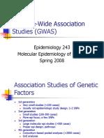Genome-Wide Association Studies (GWAS)
