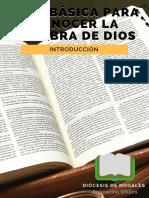 Pequeño Cuaderno de Anmación Bíblica - 002 Guía Básica Para Conocer La Palabra de Dios