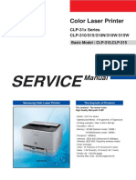 CLP 31x Series Service Manual