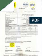 Letter for Feild Compressive Strength Test 1