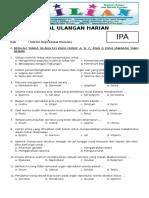 Soal IPA Kelas 9 SMP Bab 2 Sistem Reproduksi Manusia Dan Kunci Jawaban