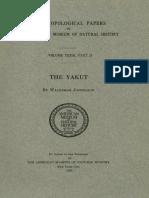 The YAKUT by Waldemar Jochelson