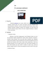 Wandri, 2008, Beruas, Jurnal Fisika Umum Penerapan Multimeter