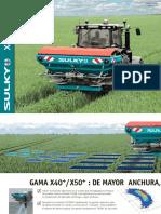 Catálogo abonadoras Sulky X40-50