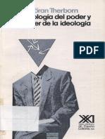 Therborn - la ideologia del poder y el poder de la ideologia