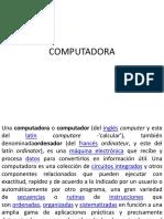 1 La Computadora y Sus Partes