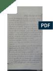 Carta del médico Jhiery Fernández acusando al sistema judicial